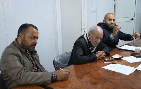 عقد اليوم الثلاثاء الموافق 27 مارس 2018 بمستودع مصراته النفطي إجتماعا تقابلي بين مهندسين شركة البريقة لتسويق النفط وشركة ارينا ليبيا للمقاولات لمناقشة اعمال سير عمل مشروع