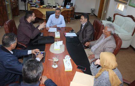 السبت الموافق 24 - مارس - 2018م عقد السيد عضو لجنة الإدارة للمناطق (غ-ج)والمواد إجتماع ضم كلا من السيد مدير إدارة منطقة طرابلس ومنسق مستودع طرابلس النفطي و رئيس وأعضاءاللجنة