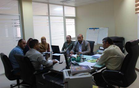 في إطار التجهيز لعقد ورشة العمل المزمع عقدها بتاريخ 13 مايو 2018م بفندق باب البحر طرابلس تحت عنوان (المكتبات النفطية واقع وآفاق) تنظيم الجمعية الليبية للمكتبات والمعلومات