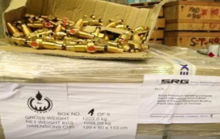 وصول دفعة جديدة من صمامات غاز الطهي لمستودع طرابلس والتي من شأنها المساعدة علي الحد من أزمة الغاز.