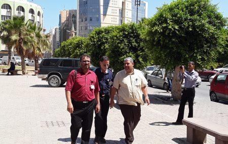 أجري اليوم الثلاثاء 10 يوليو >> الدكتور فؤاد علي بالرحيم رئيس لجنة الإدارة جولة تفقدية لمواقع الشركة الإدارية والتشغيلية بمدينة بنغازي شملت الإدارات والمراقبات والمنسقيات