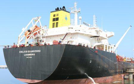 ضمن نشاطات مراقبة التزويد والنقل البحري للمناطق الوسطى والشرقية وما يعقبه من جهود إدارة تشغيل منطقة بنغازي بمنسقية التسهيلات البحرية غادرت صباح اليوم الأثنين 6 أغسطس