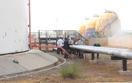 قام رئيس لجنة الإدارة بشركة البريقة لتسويق النفط السيد عماد بن كورة وبرفقته السادة أعضاء لجنة الإدارة صباح يوم الخميس الموافق 27 سبتمبر2018 بزيارة تفقدية إلي مستودع طرابلس