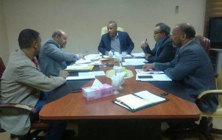 عقد صباح الإربعاء الموافق الحادي عشر من ديسمبر2018 بمكتب السيد إبراهيم ابو بريدعه عضو لجنة الإدارة للمناطق الغربية والجنوبية والمواد إجتماعا تناول سير العمل بالإدارة