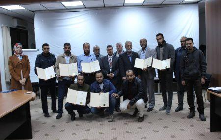 أختتمت الدورة التدريبية حول برنامج تقييم جودة المنتجات النفطية الإثنين بتاريخ 17ديسمبر2018 والتي نظمتها إدارة التدريب المحلي بشركة البريقة لتسويق النفط لصالح وحدة الجودة