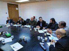 إجتماع تنسيقي بين شركة البريقة لتسويق النفط ومعهد النفط الليبي