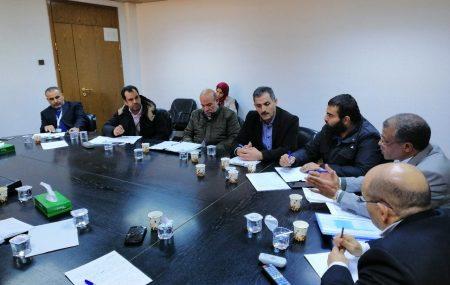 عقد يوم الإثنين الموافق 2019يناير21 علي تمام الساعة العاشرة صباحاً إجتماع تنسيقي بين شركة البريقة لتسويق النفط ومعهد النفط الليبي بمقر المعهد وحضر الإجتماع من جانب شركة