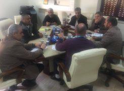 فريق العمل المكلف بالإشراف والتجهيز للمشاركة بمعرض طرابلس الدولي يباشر مهامه