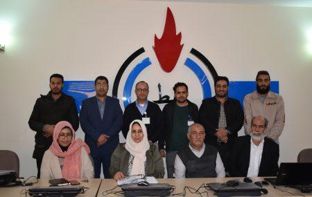 على هامش الإجتماع الرابع للجنة الدائمة لشبكة المكتبات النفطية أقيمت صباح اليوم الأثنين الأول من أبريل 2019 بصالة التدريب والتطوير بالمناطق الوسطى والشرقية - بنغازي محاضرات