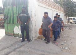 استمرار فريق التفتيش والمتابعة في زيارته الميدانية على مركز توزيع الغاز