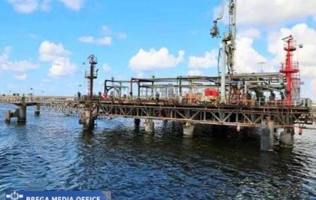 #حركة_النواقل_البحرية_عبر_الرصيف_النفطي _بنغازي ناقلة الوقود أيكو فليت تنهي عمليات ضخ وتفريغ منتج #ديزل بخزانات الشركة وتغادر منصة الرصيف النفطي بنغازي أنهت صباح