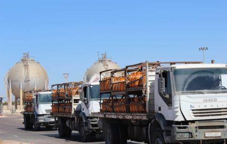 الإدارة العامة لعمليات المناطق الغربية والجنوبية إدارة عمليات منطقة الزاوية الكميات الموزعة من الغاز السائل ليوم الثلاثاءالموافق 16مارس 2021م