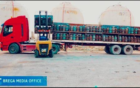 إدارة عمليات منطقة بنغازي #مستودع_رأس_المنقار مخرجات أسطوانات الغاز ليوم الاحد الموافق 21مارس 2021م التي تم توزيعها على موزعي الغاز للمناطق والمدن المبينة أدناه على