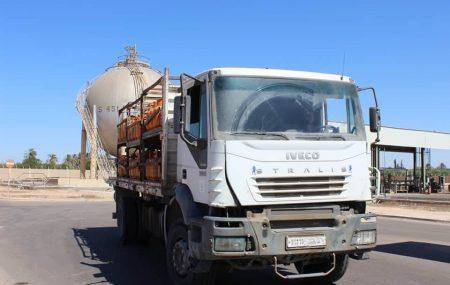 الإدارة العامة لعمليات المناطق الغربية والجنوبية إدارة عمليات منطقة الزاوية الكميات الموزعة من الغاز السائل ليوم الاحد الموافق 21مارس 2021م