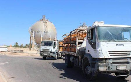 الإدارة العامة لعمليات المناطق الغربية والجنوبية إدارة عمليات منطقة الزاوية الكميات الموزعة من الغاز السائل ليوم الثلاثاءالموافق23مارس 2021م.