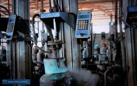 شركة البريقة لتسويق النفط إدارة مصراتة / قسم أرصدة السوائل ************************************* الكميات الموزعة لغاز الطهي المنزلي ليوم السبت الموافق 20مارس 2021م.