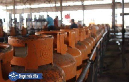 برنامج توزيع الغاز من مستودع الهاني ليوم السبت الموافق20 مارس 2021م