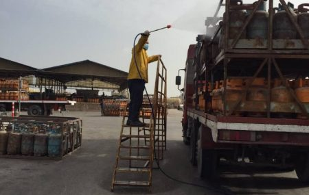 #الإدارة العامة لعمليات المناطق الغربية والجنوبية إدارة عمليات منطقة طرابلس مســـــــــتودع طرابلس #برنامج توزيع الغاز #ليوم الخميس الموافق25مارس 2021م