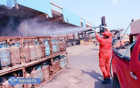 شركة البريقة لتسويق النفط إدارة مصراتة / قسم أرصدة السوائل ************************************* الكميات الموزعة لغاز الطهي المنزلي ليوم السبت  الموافق 27 مارس 2021م.