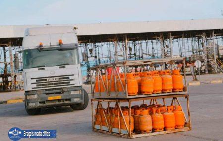 برنامج توزيع الغاز من مستودع الهاني ليوم السبت الموافق 27مارس 2021م.