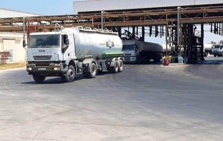 الإدارة العامة لعمليات المناطق الغربية والجنوبية إدارة عمليات منطقة الزاوية الكميات الموزعة لوقود البنزين والديزل لمحطات الوقود التابعة لشركات التوزيع ليوم الاثنينالموافق05ابريل