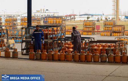 إدارة عمليات منطقة بنغازي #مستودع_رأس_المنقار مخرجات أسطوانات الغاز ليوم السبت الموافق 17ابريل 2021م التي تم توزيعها على موزعي الغاز للمناطق والمدن المبينة أدناه على