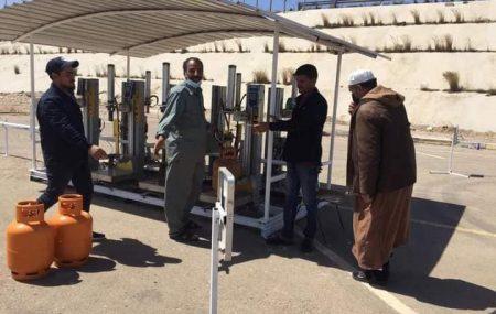 الإدارة العامة لعمليات المناطق الغربية والجنوبية إدارة عمليات منطقة طرابلس مســـــــــتودع طرابلس برنامج توزيع الغاز #ليوم الثلاثاء الموافق18مايو 2021م