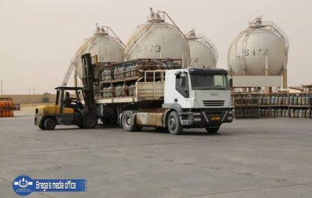 شركة البريقة لتسويق النفط إدارة مصراتة / قسم أرصدة السوائل ************************************* الكميات الموزعة لغاز الطهي المنزلي ليوم الثلاثاء الموافق 15يونيو 2021م.