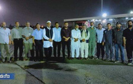 وسط أجواء رمضانية أقام مستودع طرابلس النفطي مأدبة إفطار جماعي اليوم الثلاثاء الموافق للحادي عشر من شهر مايو الجاري التاسع والعشرون من شهر رمضان المبارك بحضور السيد