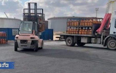 شركة البريقة لتسويق النفط إدارة مصراتة / قسم أرصدة السوائل ************************************* الكميات الموزعة لغاز الطهي المنزلي ليوم الجمعة الموافق25يونيو 2021م.