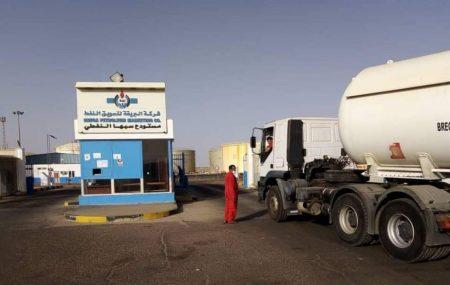 #وصول الشحنة الثانية من المحروقات لمستودع سبها النفطي #البريقة _مجهود مشترك _لأجل الجنوب. الثلاثاء الموافق 01/06/2021