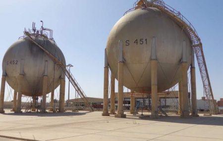 الإدارة العامة لعمليات المناطق الغربية والجنوبية إدارة عمليات منطقة الزاوية #مستودع الزاوية النفطي الكميات الموزعة من الغاز السائل ليوم الاربعاءالموافق