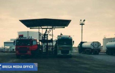 الإدارة #العامة لعمليات المناطق الوسطى والشرقية إدارة عمليات البريقة والسرير #مستودع_مرسى_البريقة المسحوبات اليومية من المنتجات النفطية لمحطات الوقود التابعة لشركات